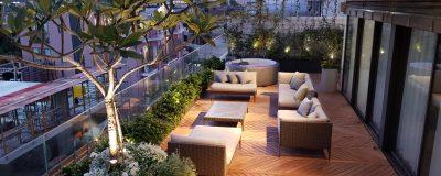 גינה במרפסת