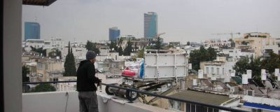 הקמת גינה במרפסת בעיר