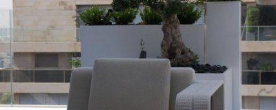 מערכת ישיבה בגינת מרפסת