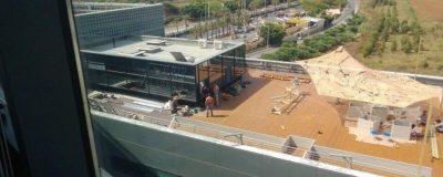 בניית אדניות מותאמות לטובת גינת גג